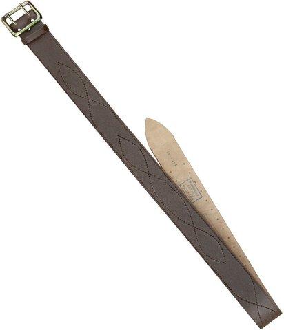 Ремень офицерский коричневый 50мм (ГОСТ) большой