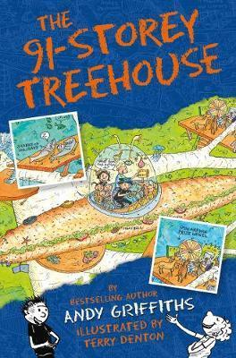 Kitab The 91-Storey Treehouse | Andy Griffiths