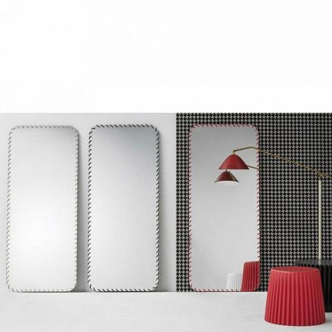 Bonaldo D6 63_anthracite grey — Зеркало Spiral Mirror