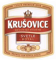 Пиво Krusovice Svetle Royal