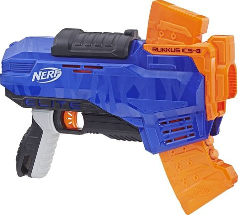 Бластер Nerf Elite Ruckus ICS-8 + 8 стрел