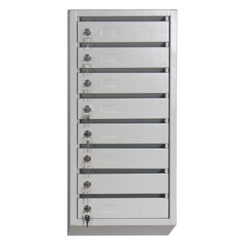 Ящик почтовый К_КП- 8 секц. почтовый ящик 380x190x860