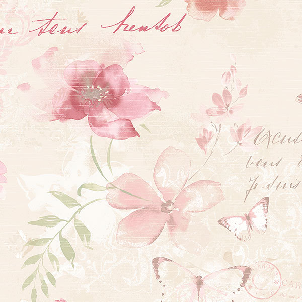 Обои Aura Abby Rose AB42431, интернет магазин Волео