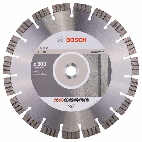 Алмазный диск Best for Concrete 300-22,23 Bosch 2608602656