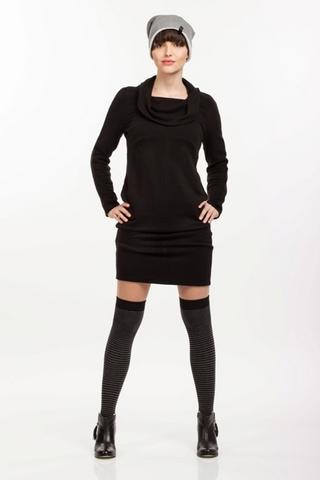 Платье 06182 черный