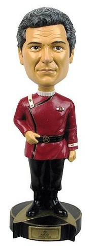 Star Trek - Admiral Kirk Bobble-head Figure || Фигурка Адмирал Кирк Башкотряс