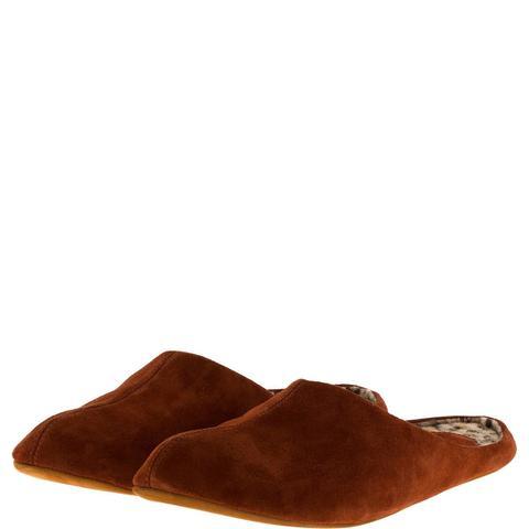 777137 туфли домашние женские терракот. КупиРазмер — обувь больших размеров марки Делфино