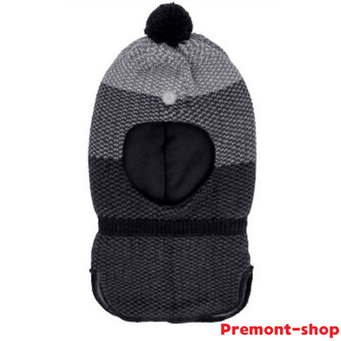 Шлем Premont вязаный WP92896 BLACK