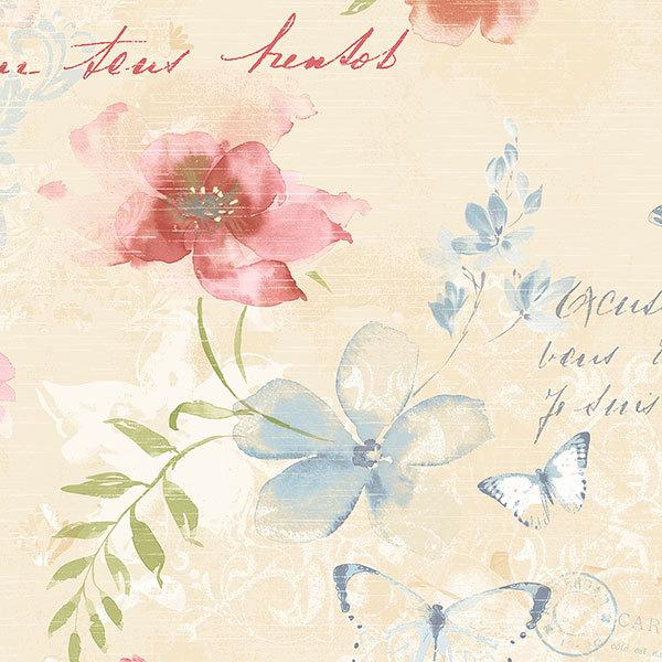Обои Aura Abby Rose AB42432, интернет магазин Волео