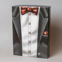 Коробка подарочная мужская с бабочкой 44192