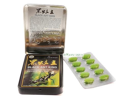 Препарат для повышения потенции Black Ant King Королевский Черный Муравей Дары Тибета