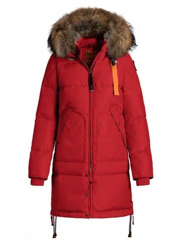 Пуховик Parajumpers Long Bear Red (Красный)