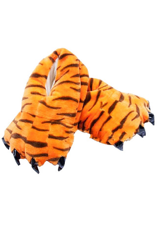 Тапки кигуруми тигровые
