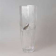Ваза декоративная 40см кристалл 415/PLK