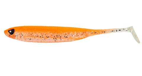 Виброхвост LJ 3D Series Makora Shad Tail 5.0in (12,7 см), цвет 007, 4 шт.