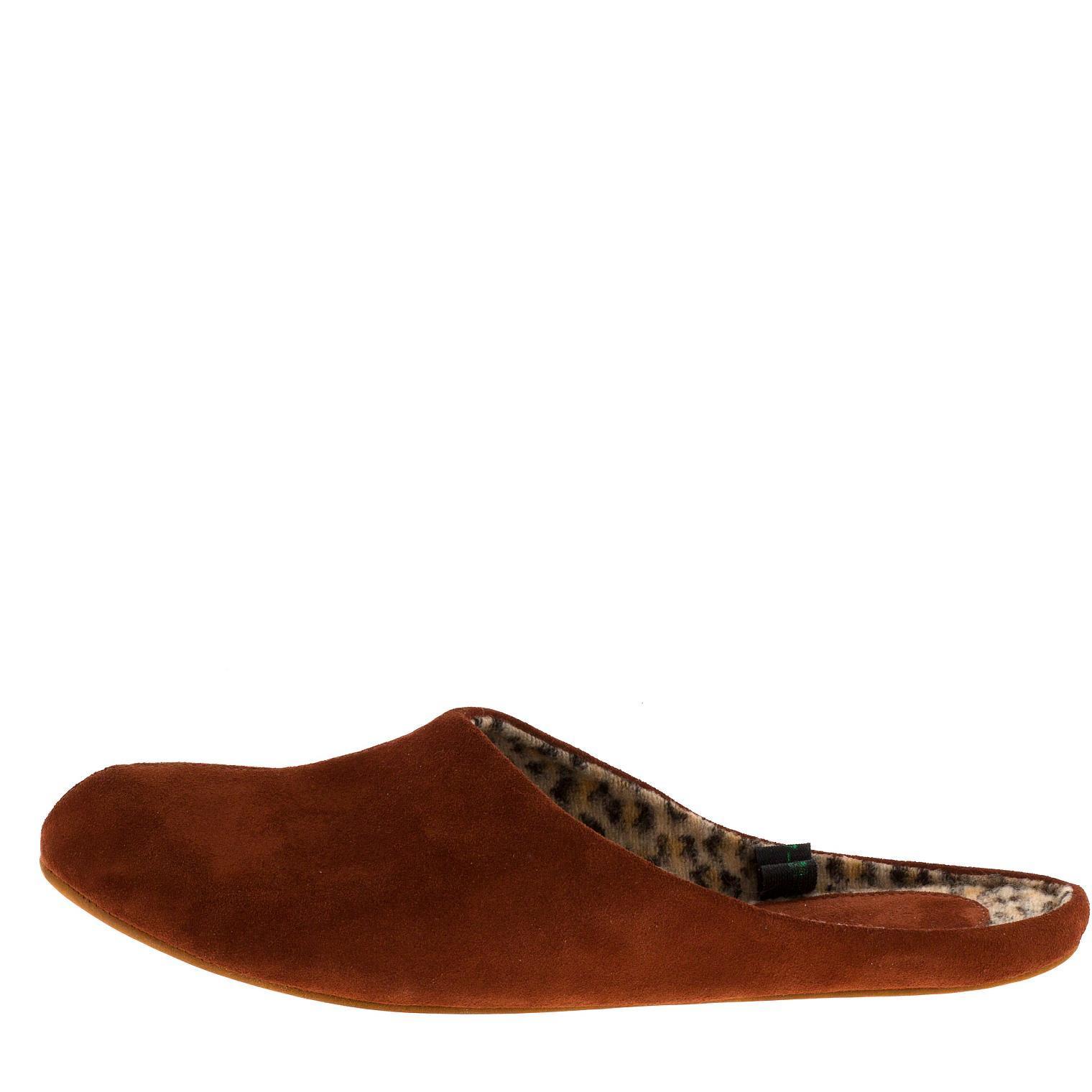 777137 туфли домашние женские терракот больших размеров марки Делфино