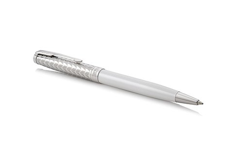 Шариковая ручка Parker Sonnet Metal and Pearl Lacquer CT123