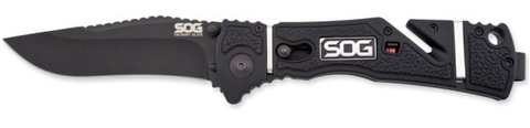 Купить Складной нож SOG Мод. TRIDENT ELITE BLACK 97161 по доступной цене