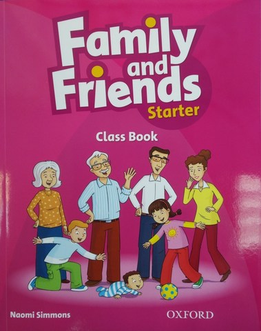 Family and Friends Starter Class Book with Student's Site