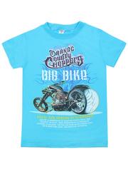 MK003F-13 футболка детская, голубая