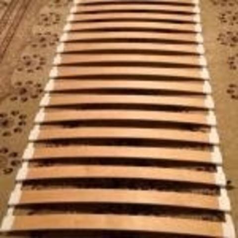 Ламельная сборка с ламелью 650-63-8 мм
