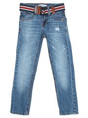 BJN004134 джинсы для мальчиков с ремнем, медиум-дарк