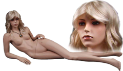 Манекен женский, WTM 2