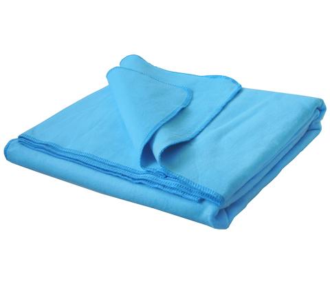 Одеяло байковое Голубое
