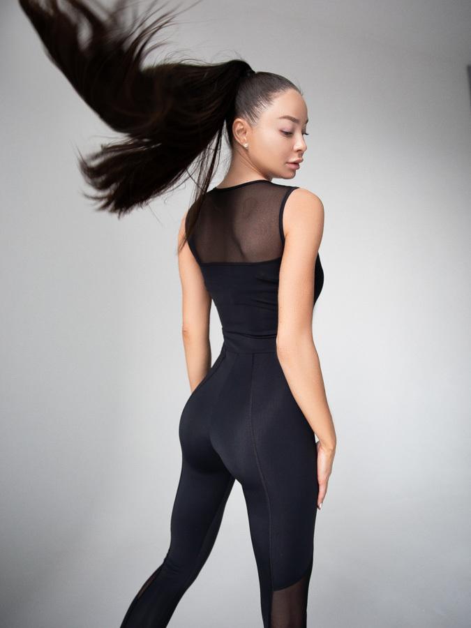 Комбинезон закрытый без рукавов/ Closed jumpsuit - купить по выгодной цене   MANSEN