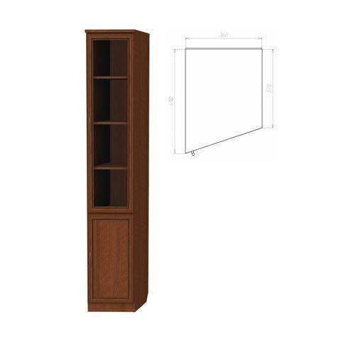 Шкаф для книг, консоль левая (Гарун-201)