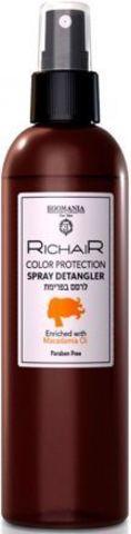 Спрей для облегчения расчесывания и защиты цвета волос, Richair Egomania,250 мл.