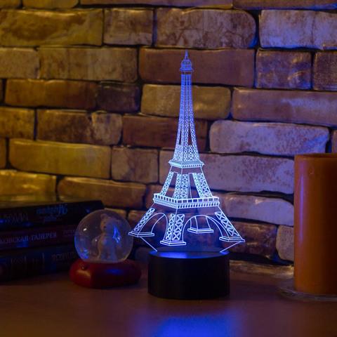 3D ночник Эйфелева башня