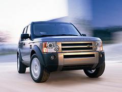 Защита передних фар прозрачная Land Rover Discovery 2004- (221110)