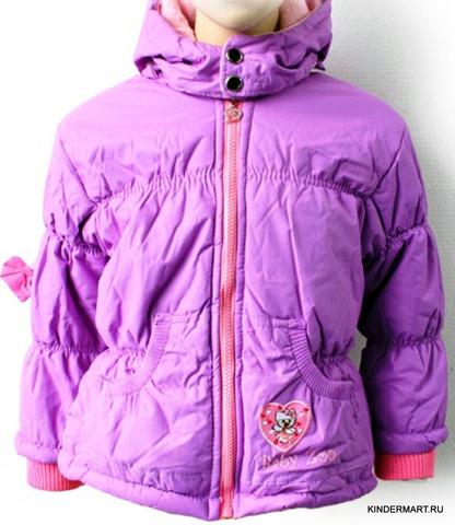 Куртка зимняя для девочки Baby Zoo