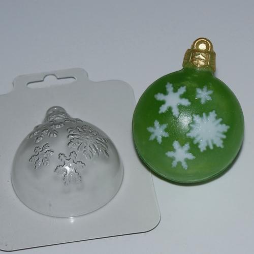 Шар/Снегопад   Форма для мыла