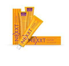 NEXXT professional cassic permanent color care cream - крем-краска уход для волос 1.0 черный (100 мл)