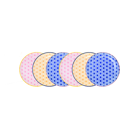 Набор тарелок 6 шт Tokyo Design Studio Star Wave 14277
