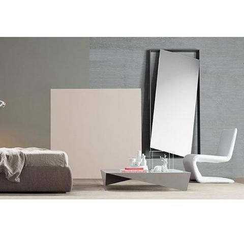 Bonaldo D6 60_mat anthracite grey — Зеркало Hang up