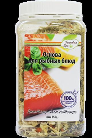 Основа для рыбных блюд 'Здоровая еда' в ПЭТ-банке