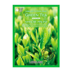 Lebelage Green Tea Natural Mask - Тканевая маска для лица с экстрактом зеленого чая