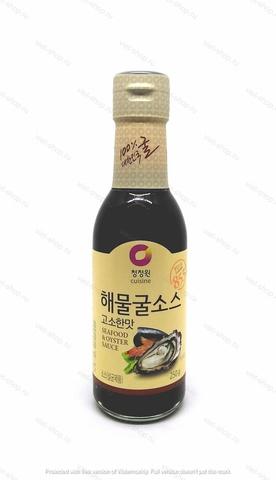 Корейский устричный соус Seafood and Oyster Sauce, 250 гр.