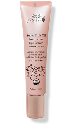 Органический крем для глаз с питательными экстрактами суперфруктов, 100% Pure