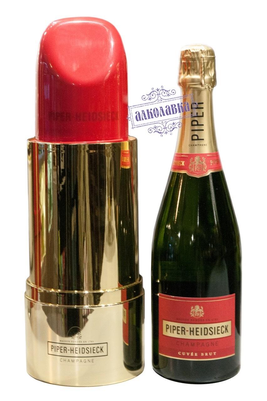 Шампанское Piper-Heidsieck, Brut  Lipstick  0,75 л