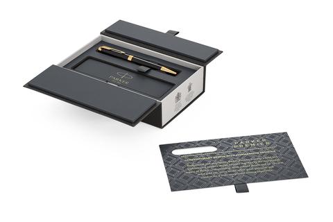 Шариковая ручка Parker Premier Black Lacquer GT.123