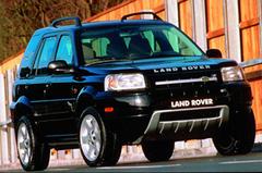 Защита передних фар прозрачная Land Rover Freelander 1998- (221060)