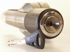 Блокиратор рулевого вала для MITSUBISHI ASX 1-е п. /2010-/ ЭлУР - Гарант Блок Люкс 018.E