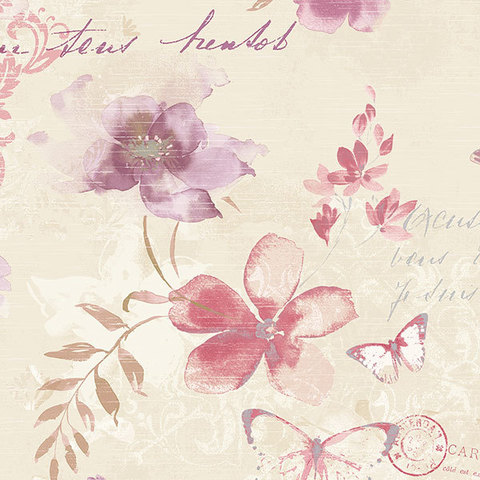 Обои Aura Abby Rose AB42434, интернет магазин Волео