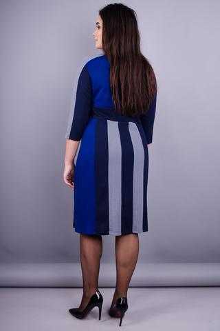 Праліне. Оригінальна сукня плюс сайз. Електрик.