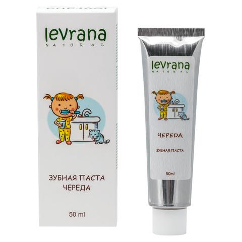 Levrana, Зубная паста гелевая детская Череда, 50мл
