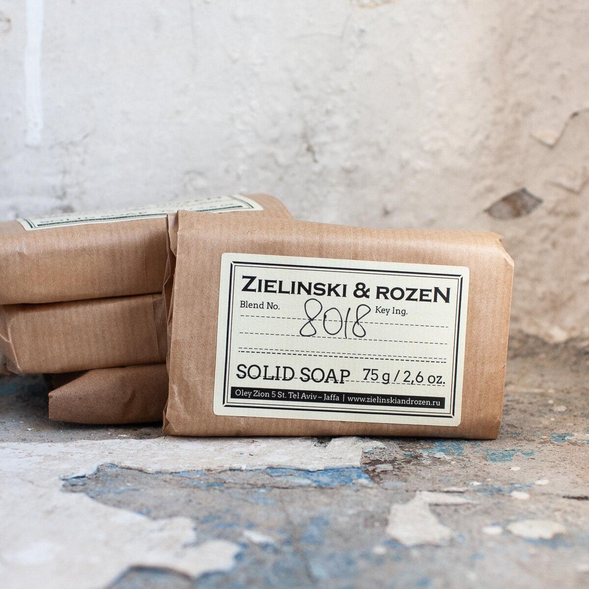 Твёрдое мыло ZIELINSKI & ROZEN (75гр)